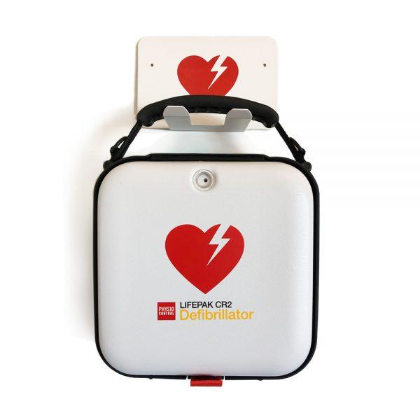 Lifepak CR2 väska och väggkrok