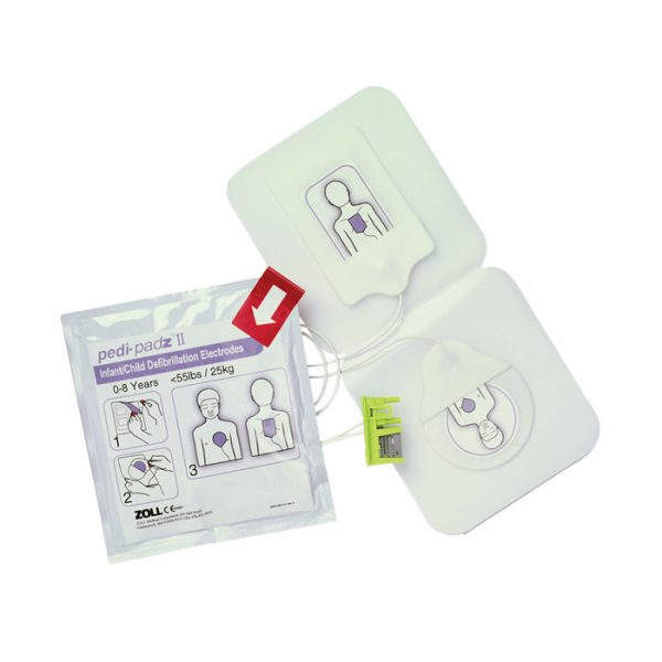 Barnelektroder Zoll AED Plus