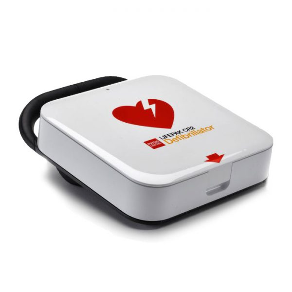 Hjärtstartare Lifepak CR2 tvåspråkig med väska