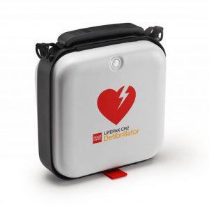 Hjärtstartare LIFEPAK CR2 wifi tvåspråkig med väska
