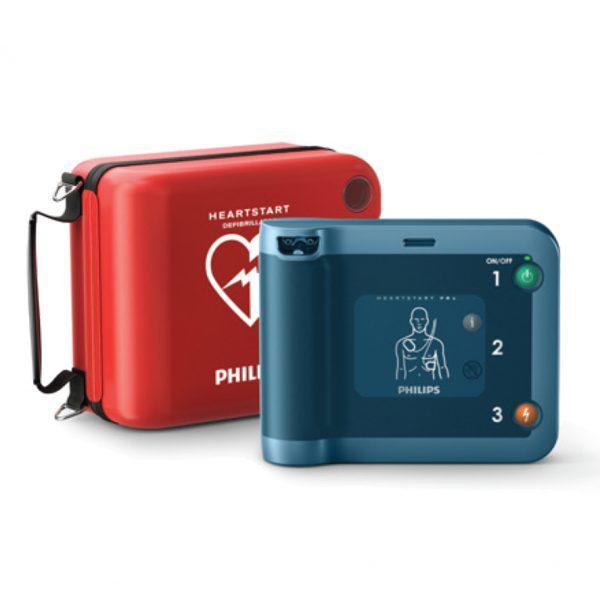 Hjärtstartare Philips Heartstart FRX med väska