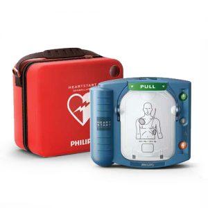 Hjärtstartare Philips HeartStart HS1 med väska
