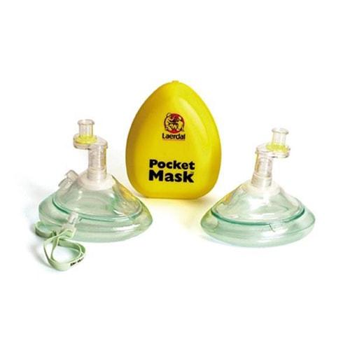 Pocketmask O² med Syrgasnippel